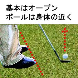ゴルフアプローチ