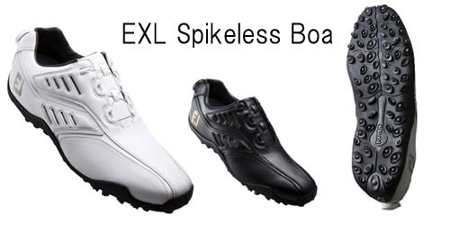 EXL-Spikeless-Boa人気ゴルフ靴