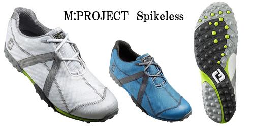 ゴルフシューズフットジョイM:PROJECT--Spikeless