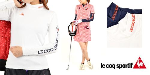 女性ゴルフ服装インナー冬